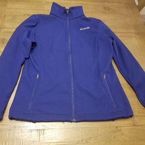 Columbia zip up light jacket women's size XL